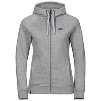Hoody midlayer full zip SQUAMISH FW, grey melange, large