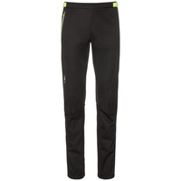 Pants AEOLUS windstopper®, black - safety yellow, large