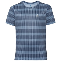 BOYS CERAMICOOL BLACKCOMB Baselayer T-Shirt, faded denim - AOP SS19, large