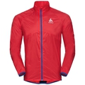 Jacket OMNIUS Light, fiery red - energy blue, large