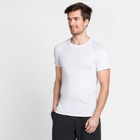 Men's ACTIVE F-DRY LIGHT LOGO Base Layer T-Shirt, white, large