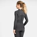 Damen ODLO FUTURESKIN Funktionsunterwäsche Langarm-Shirt, black - white, large