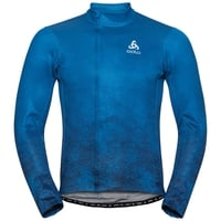 Men's ZEROWEIGHT CERAMIWARM Cycling Midlayer, directoire blue AOP, large