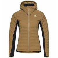 Geïsoleerde SARA COCOON-jas voor dames, dull gold, large