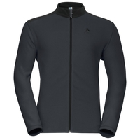 Midlayer full zip LE TOUR, odlo graphite grey - black, large