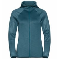 Women's LOU Full-Zip Midlayer Hoody, submerged - graphic FW20, large