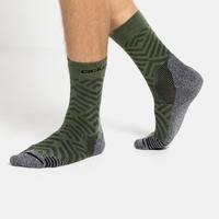 Calze alla caviglia unisex CERAMICOOL HIKE GRAPHIC, climbing ivy - graphic SS21, large
