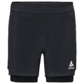 Men's ZEROWEIGHT CERAMICOOL LIGHT 2-In-1 Shorts, black - black, large