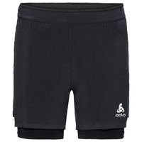 Herren ZEROWEIGHT CERAMICOOL LIGHT 2-in-1 Shorts, black - black, large