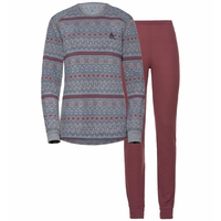 Set ACTIVE WARM, grey melange - roan rouge, large