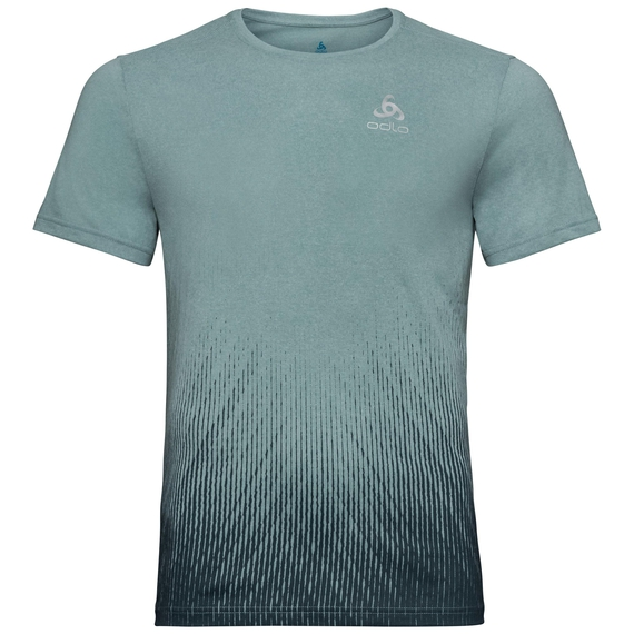Herren MILLENNIUM ELEMENT PRINT T-Shirt, arctic melange - Blackcomb, large