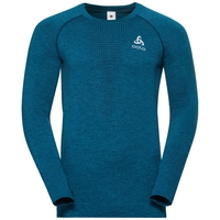 Midlayer IRBIS WARM da uomo, poseidon - blue jewel, large