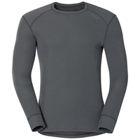 Men's ACTIVE WARM Long-Sleeve Base Layer Top, castlerock, large