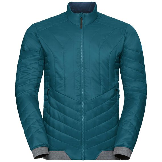 Jacket COCOON S Zip IN, blue coral, large