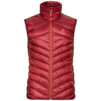 Air Cocoon-Weste, red dahlia, large