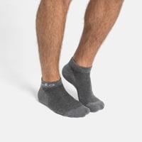 ACTIVE 2 PACK Low Socks, grey melange, large