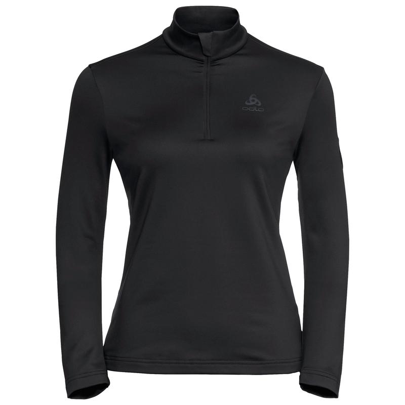 Women's CAVRADI 1/2 Zip Mid Layer, black, large