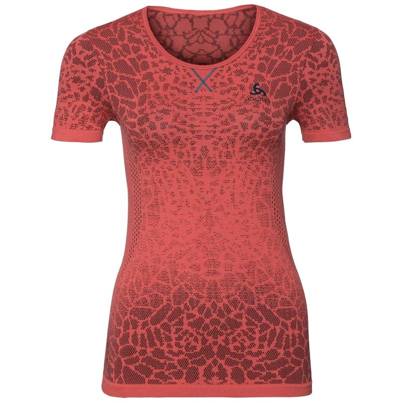 Women's BLACKCOMB LIGHT Base Layer T-Shirt, dubarry - fiery coral, large