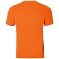 Haut BL col ras du cou manches courtes CORE Light PRINT, orange clown fish - placed print FW18, large