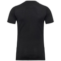 NATURAL 100% MERINO WARM T-Shirt, black - black, large