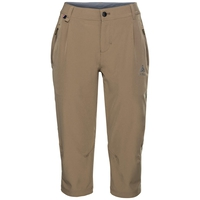 Pants 3/4 KOYA COOL PRO, lead gray - odlo steel grey, large