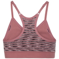 PADDED SEAMLESS SOFT Sports Bra, mesa rose, large