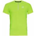 T-shirt de Running à col zippé AXALP TRAIL pour homme, lounge lizard, large
