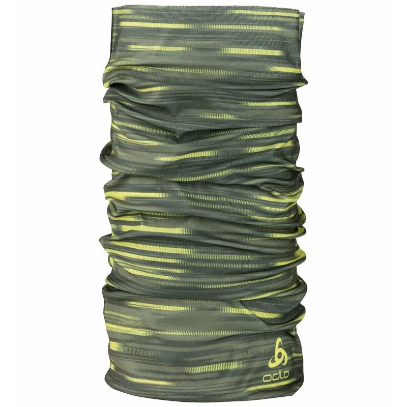 The Light Print neck scarf, deep depths, large