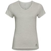 LOU LINENCOOL Baselayer T-Shirt, light grey melange, large