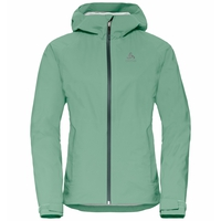 Women's AEGIS Hardshell Jacket, malachite green, large