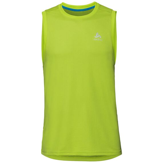 BL TOP Crew neck Tank F-DRY, acid lime, large