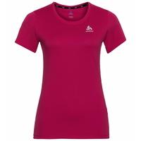 ELEMENT Light-T-shirt met PRINT voor dames, cerise - placed print FW19, large