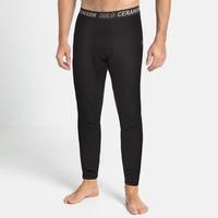 Herren ACTIVE THERMIC Baselayer-Pants, black melange, large