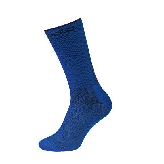 Lange sokken NATURAL+ CERAMIWOOL OUTDOOR, energy blue - diving navy, large