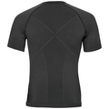 Shirt s/s crew neck EVOLUTION WARM, black - odlo graphite grey, large