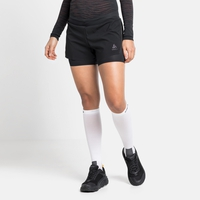 Damen ZEROWEIGHT 3 INCH BLACKPACK 2-in-1 Laufshorts, black - blackpack, large