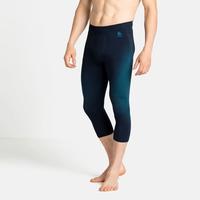 Men's PERFORMANCE WARM ECO Base Layer 3/4 Pants, dark sapphire - stunning blue, large
