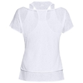 HOLOGRAM kurzärmeliges 2-in-1-T-Shirt, white, large