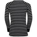 Set ACTIVE ORIGINALS Warm Kids, black - grey melange - stripes, large