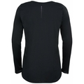 Women's ZEROWEIGHT CHILL-TEC BLACKPACK Long-Sleeve Running T-Shirt, black - blackpack, large