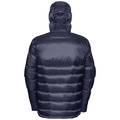 Jacket COCOON X Parka, peacoat - odlo graphite grey, large