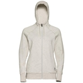 ALMA NATURAL Hoody, light grey melange, large