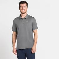 Men's CARDADA Polo Shirt, odlo steel grey, large