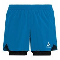 Men's MILLENNIUM PRO 2-in-1 Shorts, blue aster - black, large