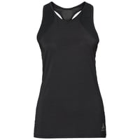 LOU MESH Baselayer Top, black, large