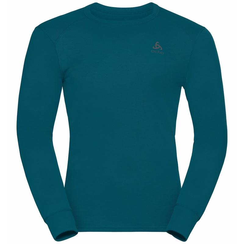 T-shirt à manches longues ACTIVE WARM ECO pour homme, deep dive, large