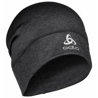 Unisex YAK LONG WARM Hat, black melange, large