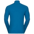 Sillian-Jersey mit halblangem Reißverschluss, mykonos blue, large