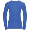Women's PERFORMANCE LIGHT Long-Sleeve Base Layer Top, amparo blue - marina, large