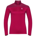 Women's CERAMIWARM ELEMENT 1/2 Zip Midlayer, cerise, large
